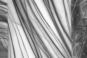 Mihaela-Vujnovic,-black-and-white,-drawings,-interior,-details,-II